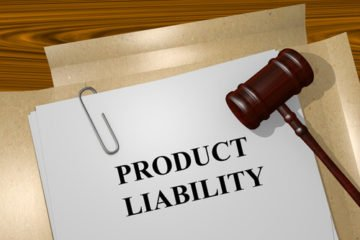 a product liability case folder